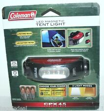 COLEMAN LED MAGNETIC TENT LIGHT OR PORTABLE SHELTER