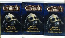 FFG 3 BOOSTERS CALL OF CTHULHU MASKS OF NYARLATHOTEP