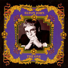 ELTON JOHN The One CD 1992 MCA Records David Gilmour (Pink Floyd) Eric Clapton