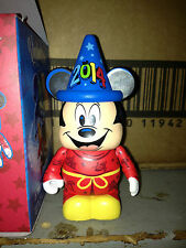 "2014 Hong Kong Disneyland Eachez Sorcerer Mickey Mouse Blue Hat 3"" Vinylmation"