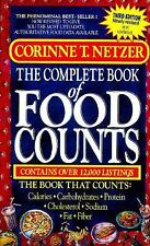 The Complete Book of Food Counts (3rd Edition) - Corinne T. Netzer (PB)
