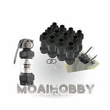 HAKKOTSU Thunder B CO2 Airsoft Sound Grenade Flash Blank package with 12 Shell