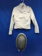 Santelli Fencing Mask and Jacket Size 36 Nice!