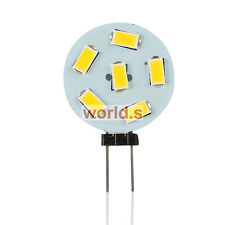 G4 6 SMD 5730 LED Lampe Birne Licht Leuchte Light warmweiss 120LM DC 12V 0.8W