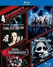 Final Destination Collection 4 Film Favorites (Blu-ray Disc 2014 4-Disc Set) NEW