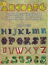 Iron on Transfer Pattern: Alphabet