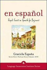 En Espanol:Rapid Success in Spanish for Beginners by Graciela Espana-Learn w CDs