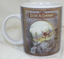 LICENSED JOHN DEERE TRACTOR COFFEE MUG WITH 1899 ADVERTISING CUP BY GIBSON