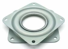 "One Square 3"" Inch Lazy Susan Turntable Bearing - 5/16"" Thick & 200 LB Capacity"
