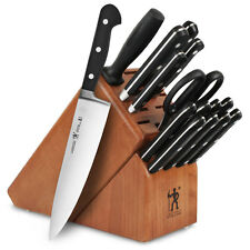 J.A. Henckels International Classic 16pc Knife Block Set