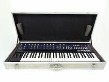 KORG PolySix Vintage Analog Programmable Synth w/ Orig Case & MIDI Mod PS-6 mp4