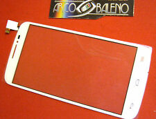 VETRO+TOUCH SCREEN BIANCO per ALCATEL ONE TOUCH POP C7 OT 7041D LCD DISPLAY