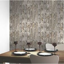 DISTRESSED CABIN WOOD WALLPAPER - ARTHOUSE VIP 622009 - RUSTIC PANELS