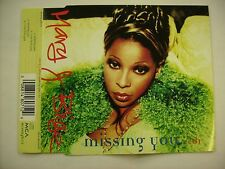 MARY J BLIGE - MISSING YOU CD1 - CD SINGLE EXCELLENT CONDITION 1997