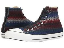 Converse Native Blanket Weave Fabric Dk Multi-Color HI-TOP Shoes M-9 / W-11 NWOT