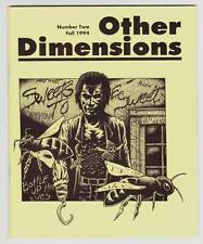 OTHER DIMENSIONS #2 JOURNAL OF MULTIMEDIA HORROR - Necronomicon Press fanzine