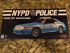 GMP 1988 NYPD Police GT Mustang (1:18 Scale) 1 of 600