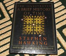 VINTAGE BOOK THE ILLUSTRATED A BRIEF HISTORY OF TIME STEPHEN HAWKING COSMOLOGY