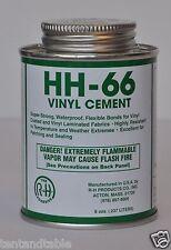 HH-66 Vinyl Cement - 8 oz Can - Tarp Repair - Vinyl Repair - Tentandtable