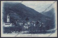 LECCO CASARGO 09 VALSASSINA Cartolina viaggiata (1929 ?)