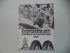 advertising Pubblicità 1983 MICHELIN e EDDY LEJEUNE