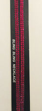 New Bling Long Keychain Wrist strap/Necklace Rhinestone Key Chain. Choose Color