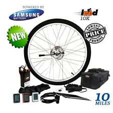 "Electric Bike Conversion Kit / Li-ion 5.2 Ah Included 24V 250W 26"" Front Wheel"