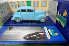 VOITURE MINIATURE collection TINTIN FORD V8 1937 o 1/43 HERGE MOULINSART 2118025