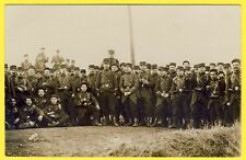 cpa CARTE PHOTO Soldats du 38e Régiment Militaires Poilus Uniformes