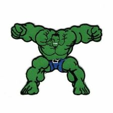 HULK MARVEL HERO Embroidered Patch Iron Sew Logo Hardcore Emblem Custom NEW RARE