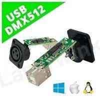 USB DMX 512 module interface controller adapter