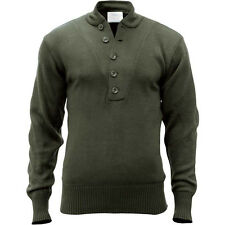 New Genuine U.S. Army Issue Fatigue Sweater Small