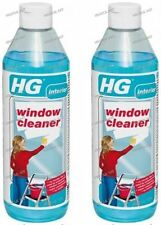 2x Professional Window Cleaner Concentrated Glass Cleaning HG Liquid Window Wash