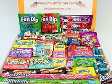 American Sweets Gift Box - USA Candy Hamper - 50 items Birthday Present NL1213