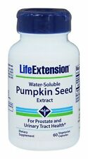 TWO BOTTLES $13.50 Life Extension Pumpkin Seed Extract urinary tract prostate