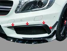 Mercedes W176 AMG A45 & AMG A Class Sport Pack Front Bumper Spoiler Flaps