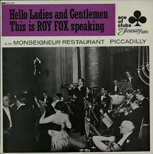 ROY FOX At The Monseigneur Restaurant, Piccadilly  Vinyl LP EXCELLENT CONDITION
