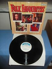 "Various ‎""Folk Favourites"" LP CONTOUR UK 1970"