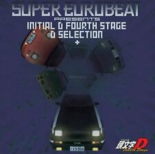 Super Eurobeat Presents Initial D Fourth 4th Stage CD Music Soundtrack MIYA