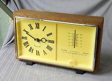 VINTAGE RUSSIAN CLOCK MAJAK MAYAK - BAROMETRE - TERMOMETRE - USSR - NOT WORK