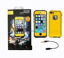 New Authentic LifeProof Fre Waterproof, Shockproof Cases for iPhone 5/5S -Hornet