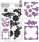 DOCRAFTS XCUT LARGE DIES FLORAL FRAME CUTTING DIE - NEW UNIVERSAL FIT