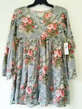 Denim & Supply Ralph Lauren Floral-Print Bell-Sleeve Dress. Size M. $125.00