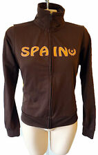 SPAIN vintage track jacket flag patch suit running yoga spanish crest gym decal