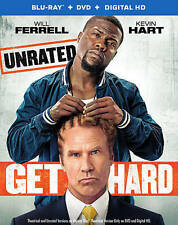 GET HARD (Blu-ray/DVD, 2016, 2-Disc Set) NEW