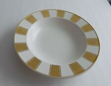 Mikasa CAA74 Fifth Avenue Design by Laurie Gates Gold on Cream Rimmed Soup Bowl