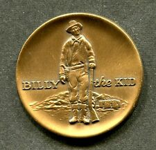 BILLY the KID Medallion; 1969 Centennial of Lincoln County NM; UNC. FREE POST