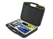 Professional Networking Tool Kit Crimp Tool, Punch Down Tool Cable Cutter Tester