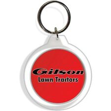 Gilson Garden Lawn Tractor Mower equipment Tractor Keychain Key Chain Ring gift