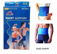 Neoprene WAIST SUPPORT Lower Back Pain Belt Brace Body Lumbar Control Sports UK